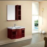 法恩莎卫浴 橡木陶瓷台盆 浴室柜FPGM3683A含F1A8