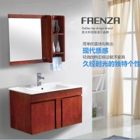 法恩莎卫浴实木浴室柜 卫浴柜组合FPGM4655A含龙头F1