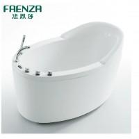 法恩莎卫浴 亚克力五件套浴缸澡盆 FW007Q