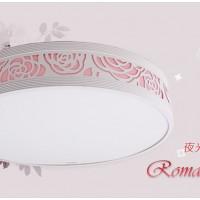 欧普照明吸顶灯具 卧室餐厅书房灯饰 现代简约浪漫夜来香