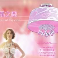 欧普照明 卧室灯吸顶灯 餐厅灯具 现代简约浪漫创意C水晶之恋