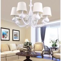 欧普照明 欧式客厅灯卧室超大吊灯具灯饰 现代简约A 普罗米