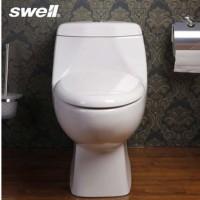 swell四维卫浴 高温陶瓷 节水马桶 22315直冲连体座