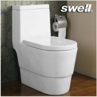 四维卫浴(swell)洁具座便器 喷射虹吸节水连体马桶223