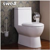 四维卫浴(swell)卫生间缓冲盖板马桶 直冲连体马桶223