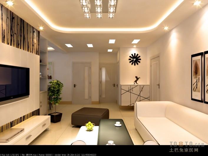 简约风格室内装修效果图_唐文天的设计案例 - 九正