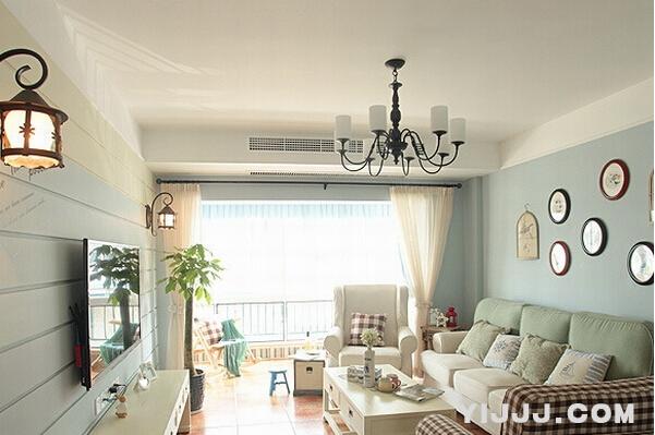 韩式田园风格卧室装修图片图片