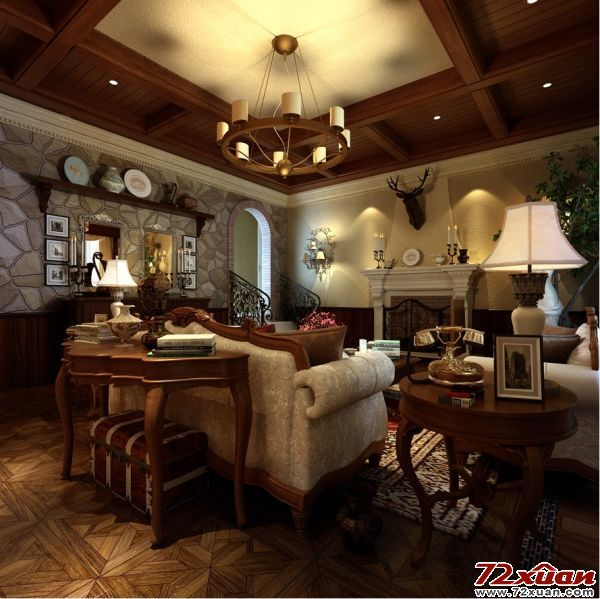 也吸取了洛可可风格中唯美 律动的细节装修效果图 第4张 家居图库 高清图片