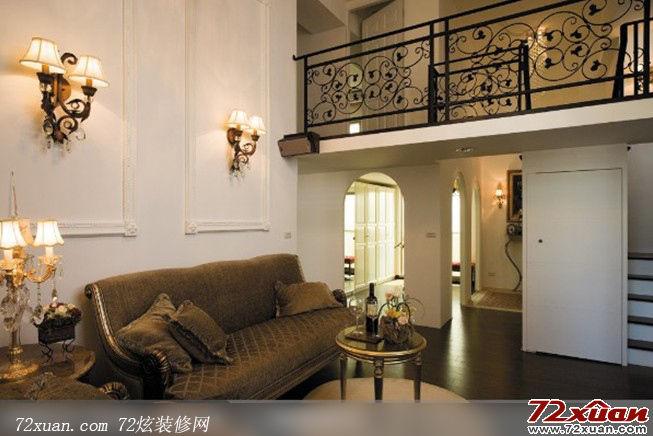 美式乡村风格客厅装修装修效果图 第2张 家居图库 九正家居网高清图片