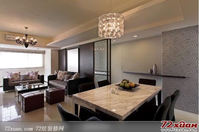 现代客厅沙发背景墙图片装修效果图 第3张 家居图库 九正高清图片