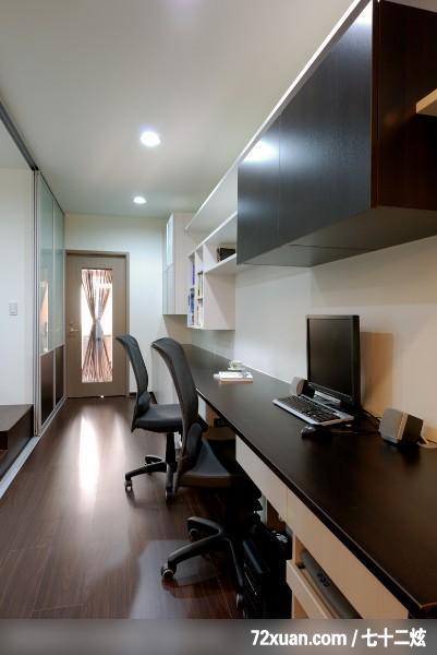区,穿透设计,书架层板,拉门,装修效果图 第9张 家居图库 九正家