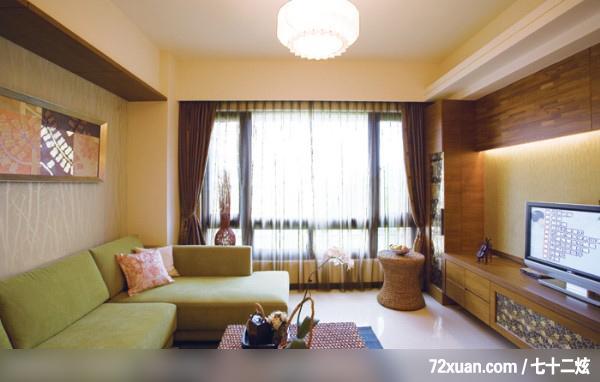北京泰吉伟邦设计公司,高震,客厅,阳台外推,电视柜,造型沙发背墙,视听