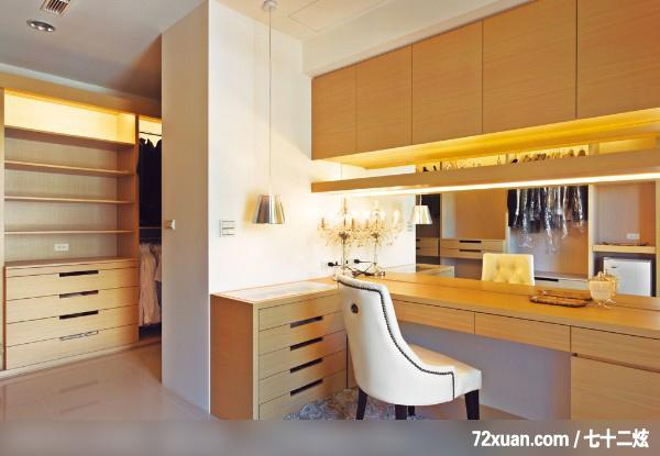 造型天花板,更衣室,装修效果图 第12张 家居图库 九正家居网