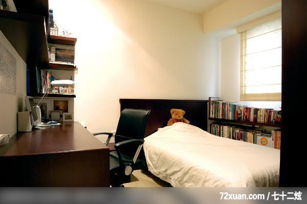 卧室,阅读区,书架层板,收纳层板,装修效果图 第1张 家居图库
