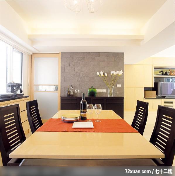 设计师_05,东易日盛亚奥工作室,张岭,餐厅,观景窗,背景墙,储物柜,造