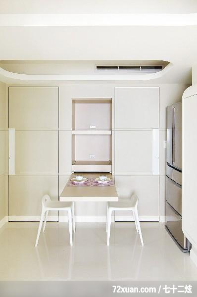 造型天花板,电器收纳柜,冰箱,装修效果图 第15张 家居图库 九正高清图片