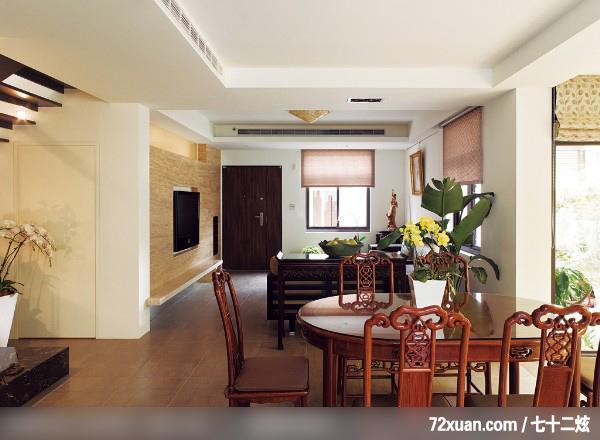客厅,造型天花板,隐藏门,造型电视主墙,冷气摆放设计,装修效果