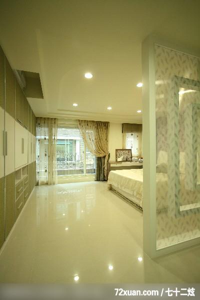 新竹县,云邑室内设计,李中霖,卧室,阳台落地窗,造型天花板