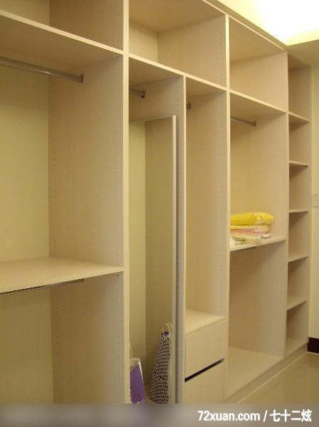蓝永峻,卧室,造型衣橱,更衣室,装修效果图 第3张 家居图库 九正