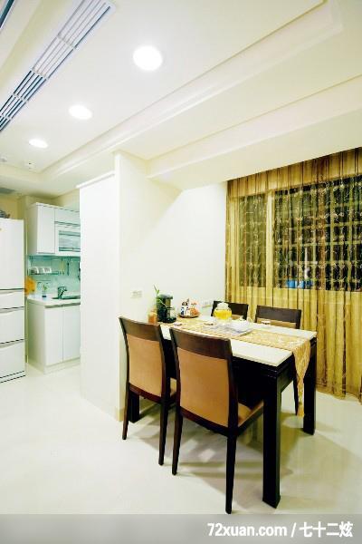 造型天花板,冷气摆放设计,冰箱收纳柜,装修效果图 第1张 家居图高清图片