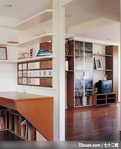 造型天花板,书柜,装修效果图 第2张 家居图库 九正家居网