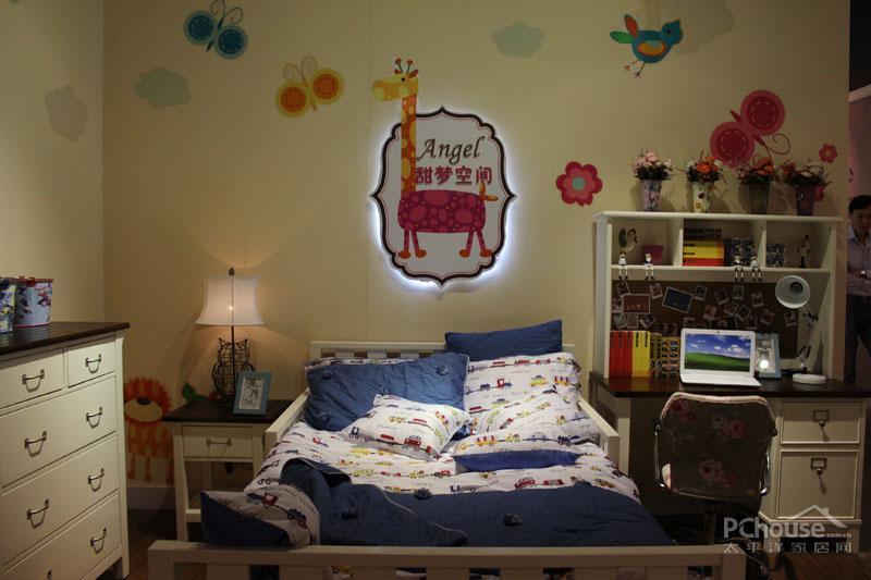 儿童卧室可爱搭配装修效果图