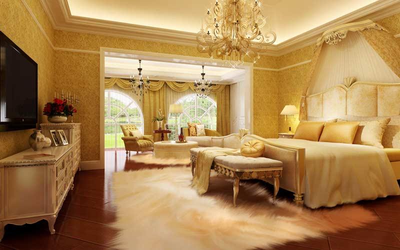 西式卧室装修效果图二 3 5