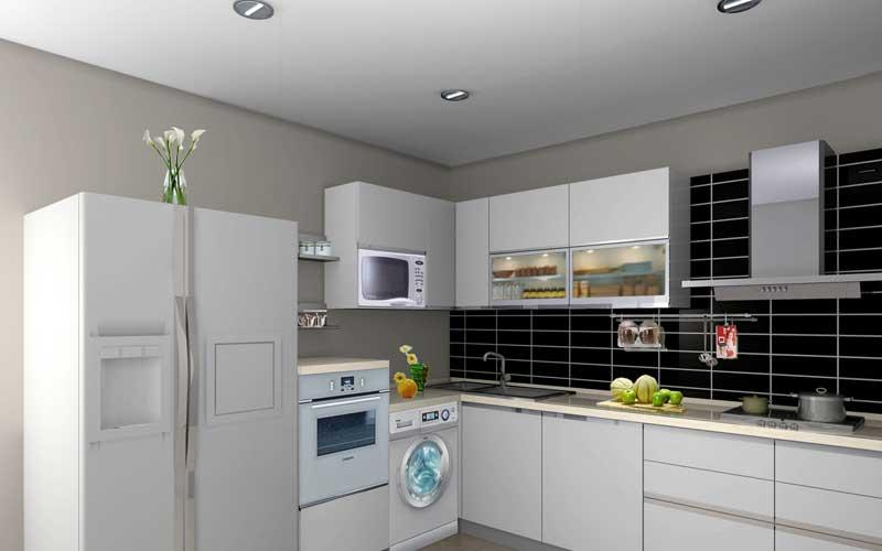 西式厨房装修效果图十五 (3/5)图片