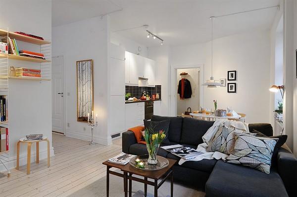 40平米小公寓设计装修效果图_第1张 - 家居图库 - 九