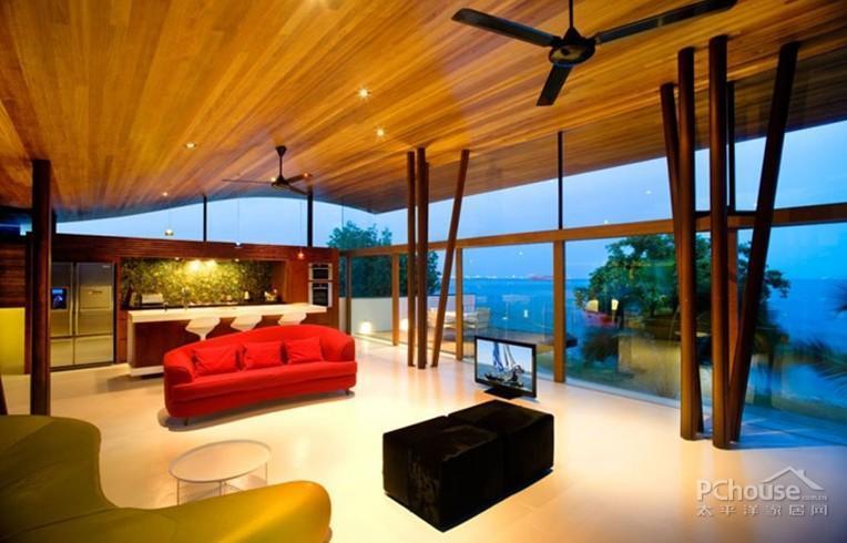 新加坡创意fish house别墅美图装修效果图_第7张