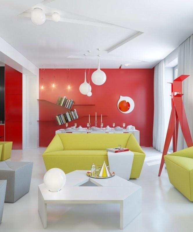 90平米小户型现代几何型客厅装修效果图大全2012图片装修高清图片