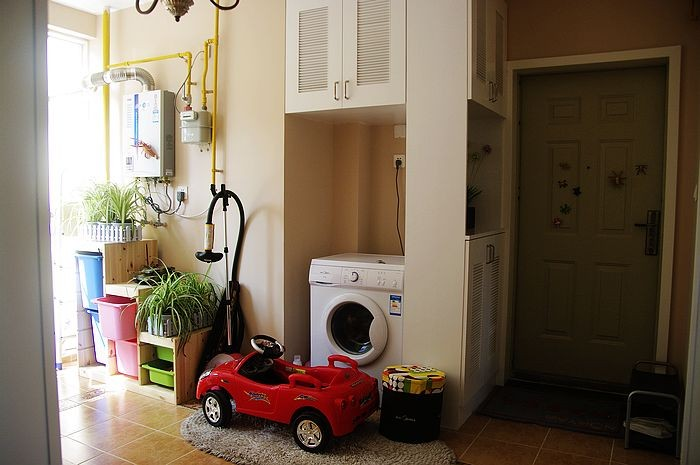 93平三室两厅一卫玄关装修设计效果图装修效果图 第5张 家居图库 九高清图片