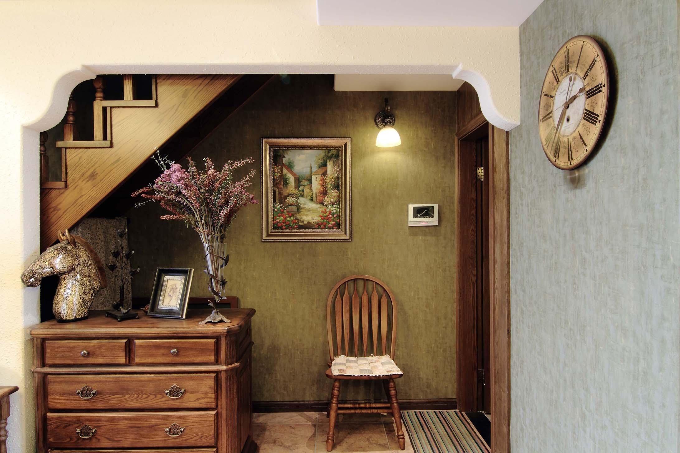 海悦蓝庭复式美式风格玄关装修效果图 1 10高清图片