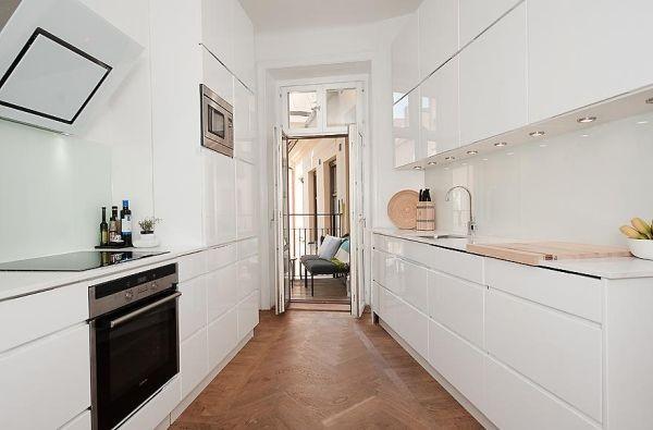 80平小户型北欧风格厨房装修效果图大全2012图片 (2/5)