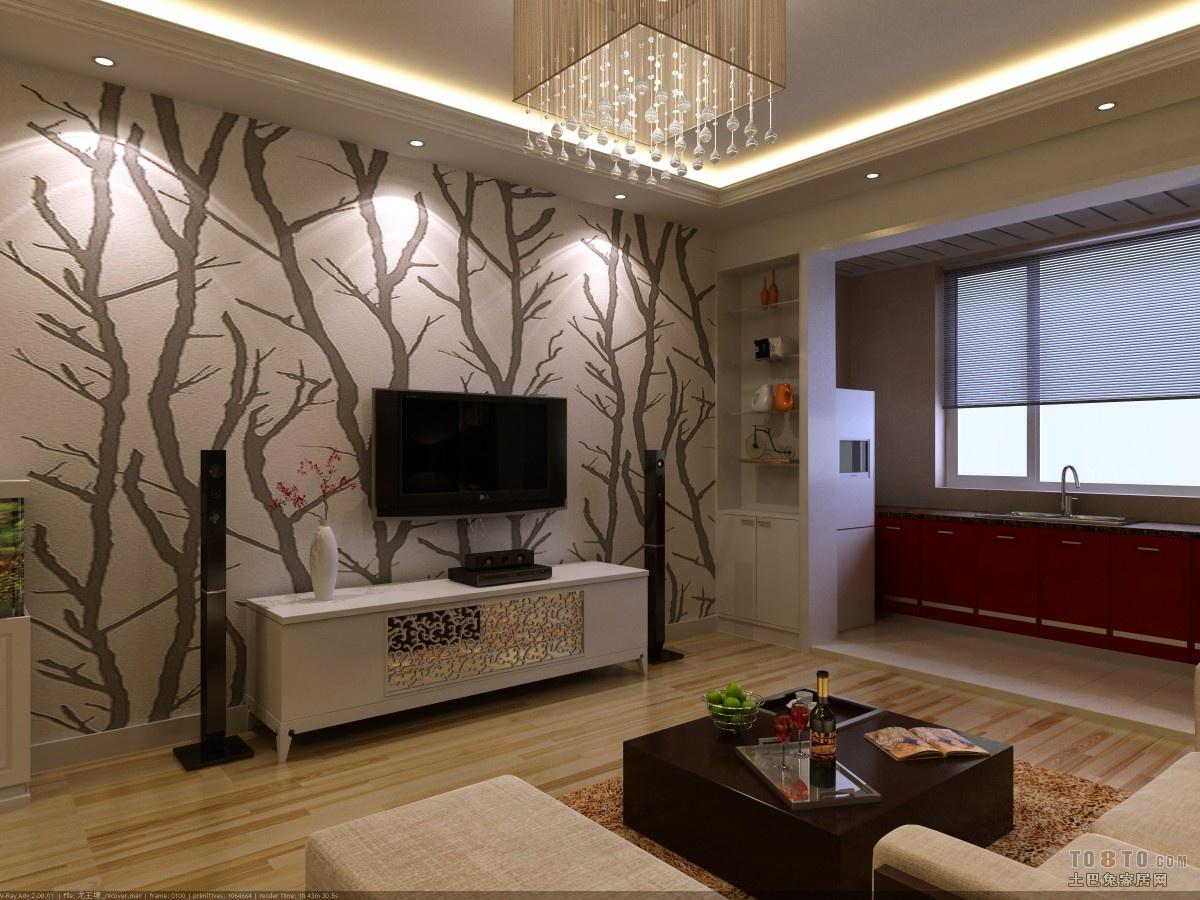 热门 小客厅背景墙效果图  土巴兔室内背景墙图片大全_背景墙装修设计
