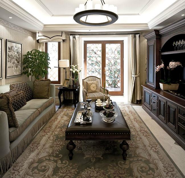 欧式奢华的别墅客厅装修效果图大全2012图片装修效果图