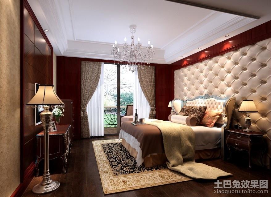 简约中式风格卧室背景墙装修效果图 (2/3)图片