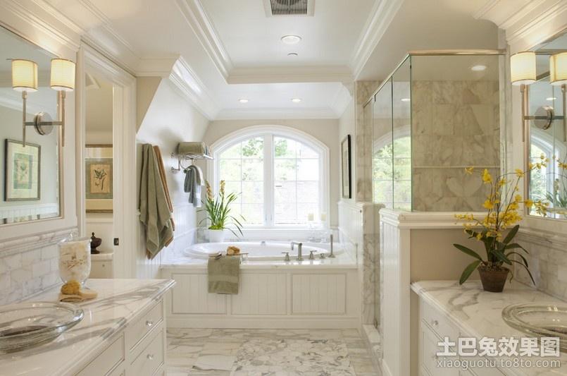 欧式卫浴间装修效果图大全装修效果图