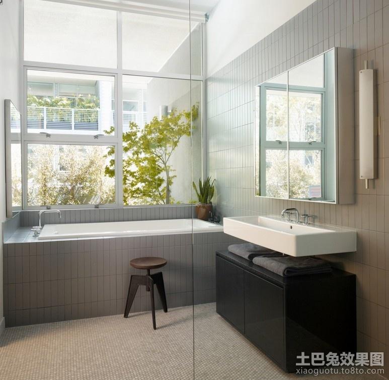 90平米房屋卫生间装修效果图 (3/4)