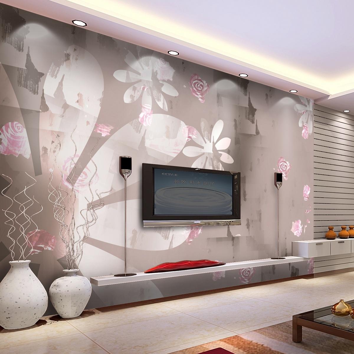 现代客厅电视墙装修效果图大全2013 (2/4)