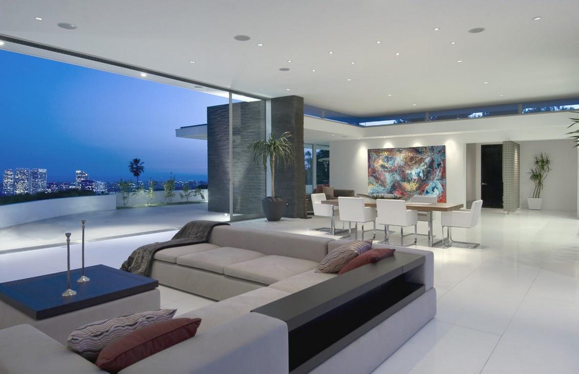 海景房一层别墅图片大全 2012客厅装修效果图装修效果图 第2张 家居高清图片