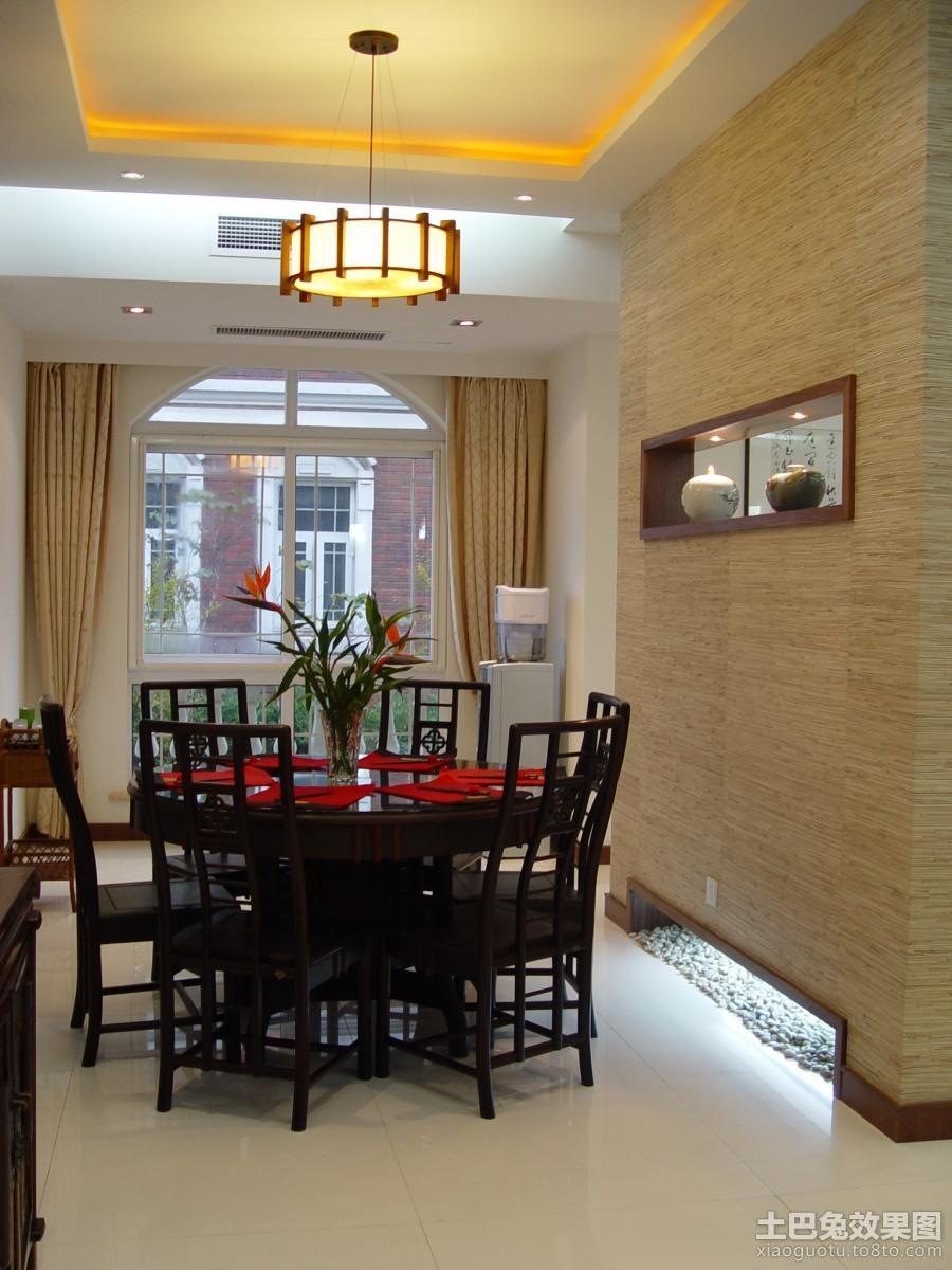 新中式风格餐厅吊顶装修 (3/7)图片