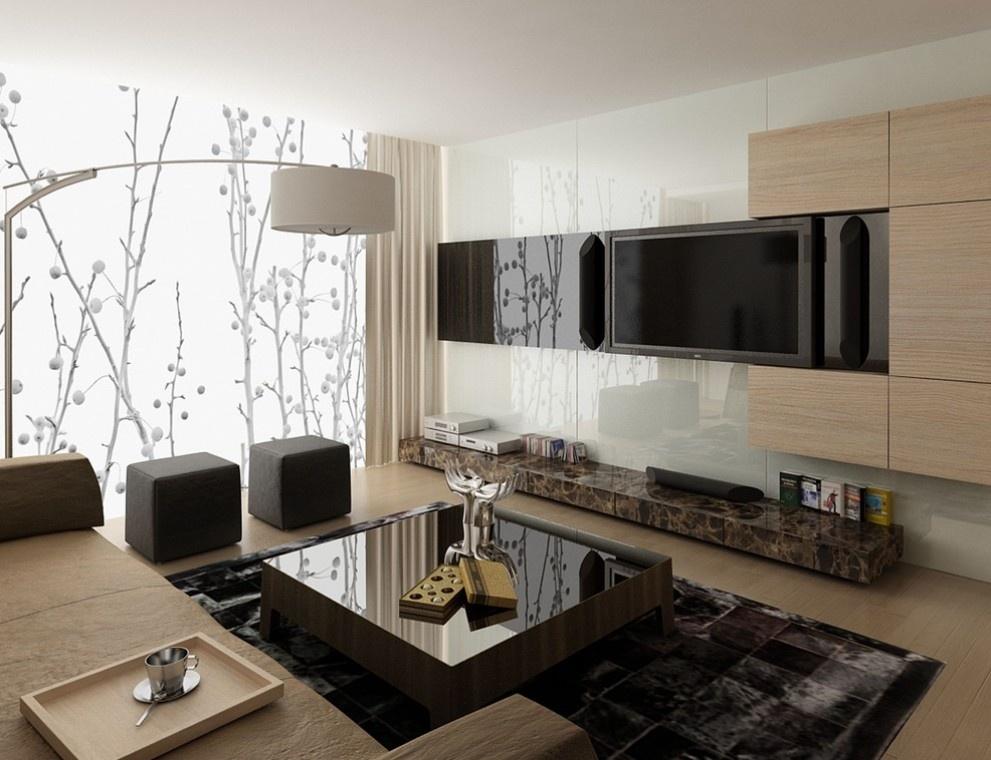 客厅瓷砖电视背景墙装修效果图装修效果图