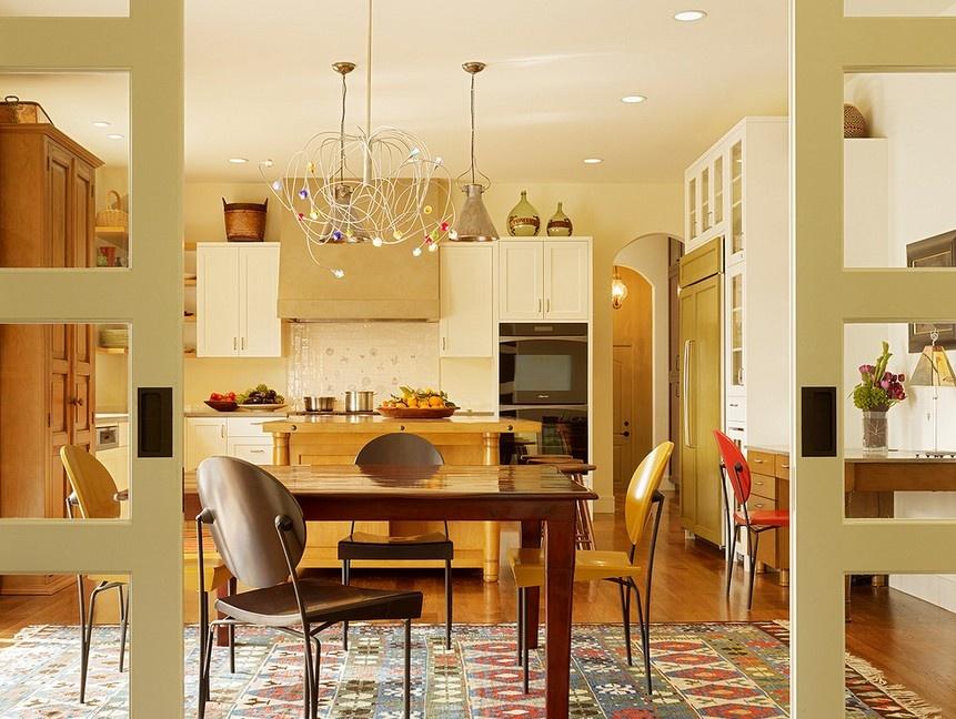 两室两厅厨房装修灯饰装修效果图装修效果图