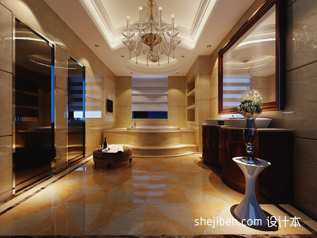 家居图库 豪宅装修别墅挑高客厅吊顶设计 > 第5张  共 8 张图片