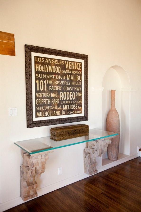 美式装饰客厅玄关装修效果图 2 5高清图片