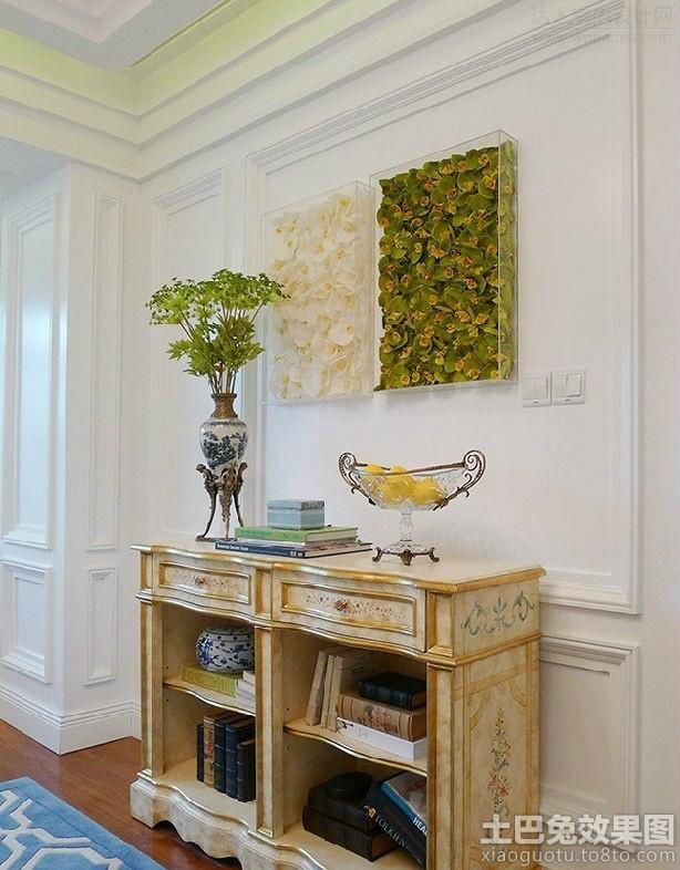 彩绘餐边柜效果图装修效果图 第5张 家居图库 九正家居网 -彩绘餐边柜高清图片