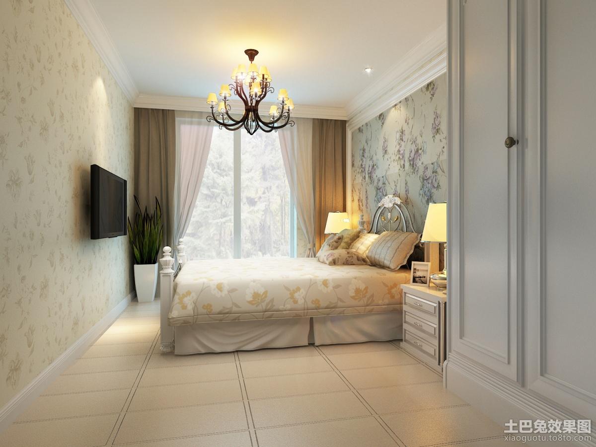 欧式卧室壁纸装修效果图装修效果图_第3张 - 家居图库