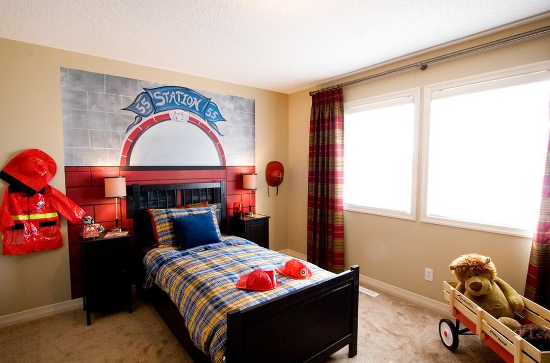 最新美式儿童卧室装修效果图大全2013图片装修效果图
