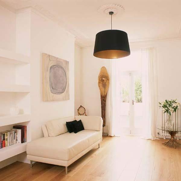 简约客厅吊顶效果图 石膏板吊顶效果图装修效果图 第6张 家居图库 九